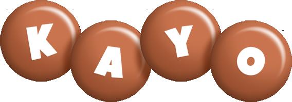 Kayo candy-brown logo