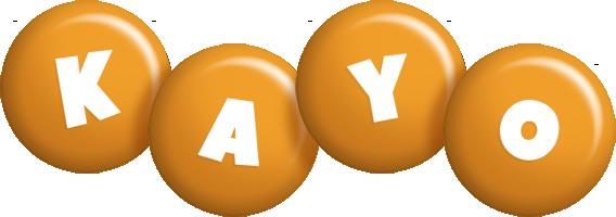 Kayo candy-orange logo