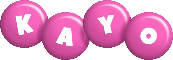 Kayo candy-pink logo
