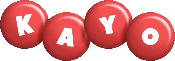 Kayo candy-red logo