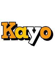 Kayo cartoon logo