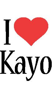 Kayo i-love logo