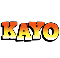 Kayo sunset logo