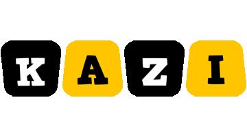 Kazi boots logo