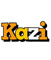 Kazi cartoon logo