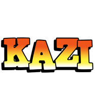 Kazi sunset logo