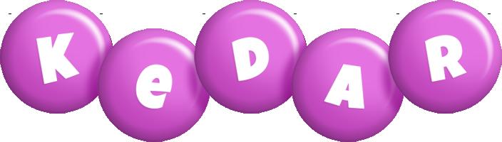 Kedar candy-purple logo