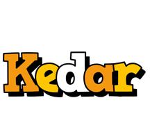 Kedar cartoon logo