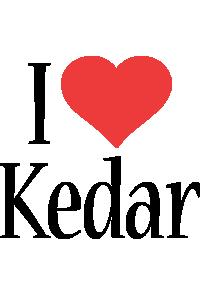 Kedar i-love logo