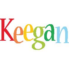 Keegan birthday logo