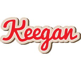 Keegan chocolate logo