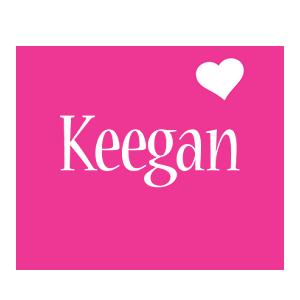 Keegan Logo | Name Logo Generator - I Love, Love Heart ...