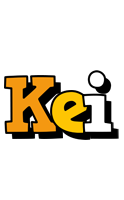 Kei cartoon logo