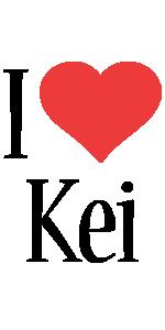Kei i-love logo