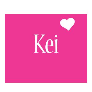 Kei love-heart logo