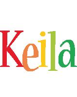 Keila birthday logo