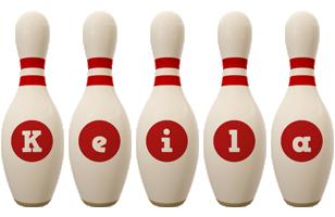 Keila bowling-pin logo