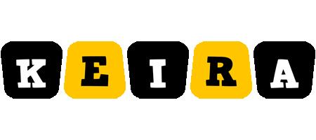 Keira boots logo