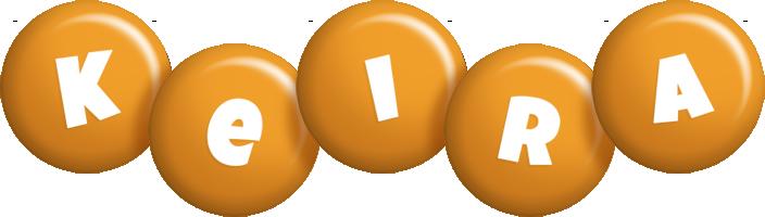Keira candy-orange logo