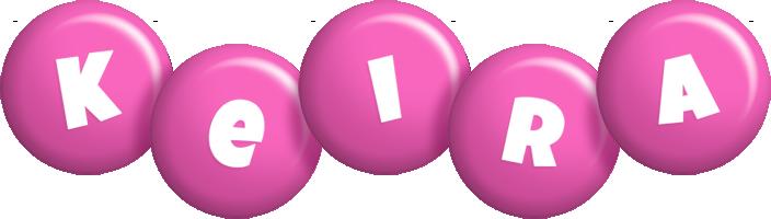 Keira candy-pink logo