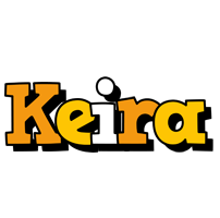 Keira cartoon logo
