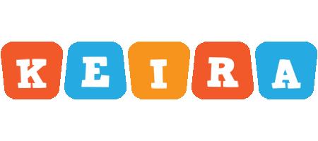 Keira comics logo