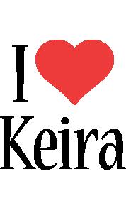 Keira i-love logo