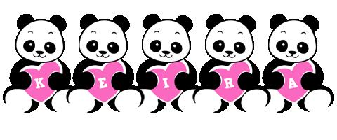 Keira love-panda logo