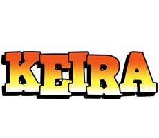 Keira sunset logo