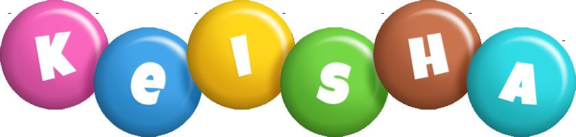 Keisha candy logo