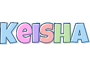 Keisha pastel logo