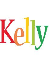 Kelly birthday logo