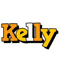 Kelly cartoon logo