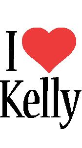 Kelly i-love logo
