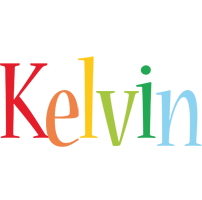 Kelvin birthday logo