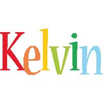 Kelvin birthday logo