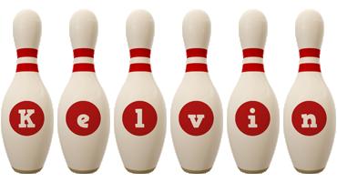 Kelvin bowling-pin logo