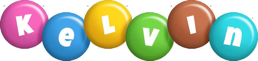 Kelvin candy logo