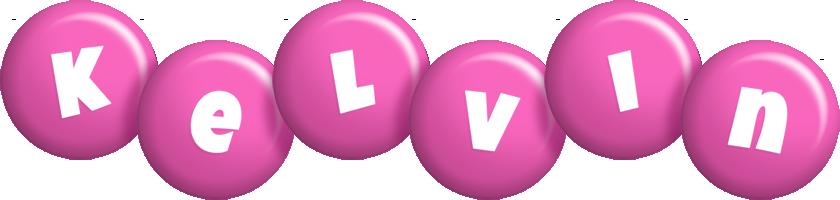 Kelvin candy-pink logo