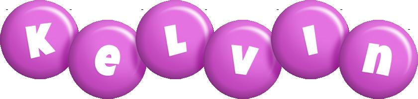 Kelvin candy-purple logo