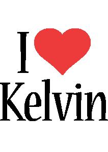 Kelvin i-love logo