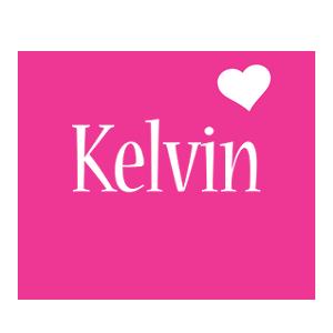 Kelvin love-heart logo