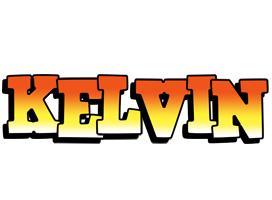 Kelvin sunset logo