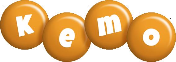 Kemo candy-orange logo