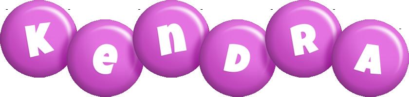 Kendra candy-purple logo