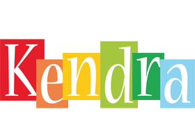 kendra logo name logo generator smoothie summer