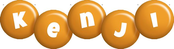 Kenji candy-orange logo