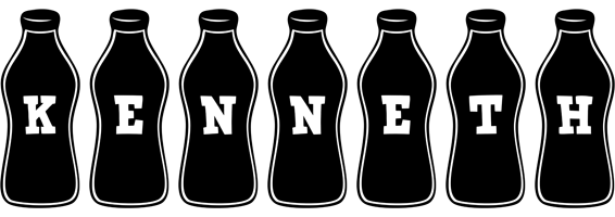 Kenneth bottle logo