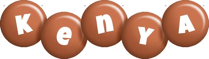 Kenya candy-brown logo