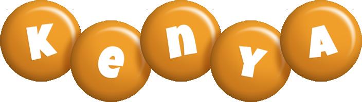 Kenya candy-orange logo